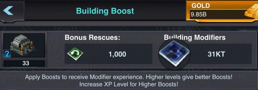 Building mods lvl 40