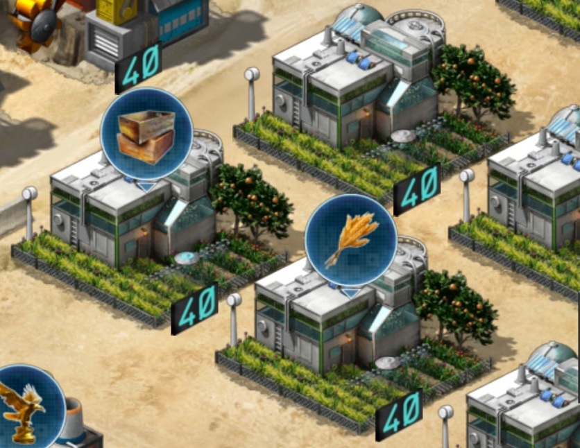 Farms in Base